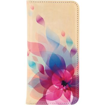 MOB-22794 Smartphone premium magnet book case apple iphone 7 plus bloemen