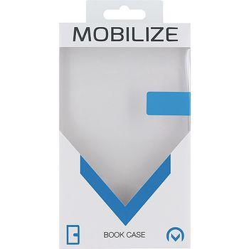 MOB-22794 Smartphone premium magnet book case apple iphone 7 plus bloemen Verpakking foto
