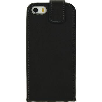 MOB-22868 Smartphone gelly flip case apple iphone 5 / 5s / se zwart Product foto