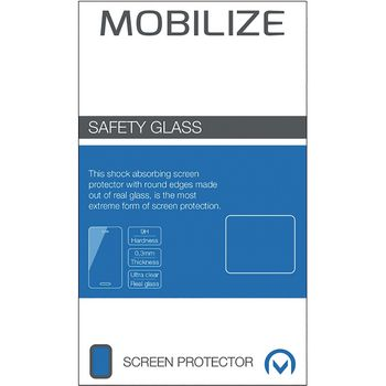 MOB-22891 Full coverage safety glass screenprotector apple iphone 7 plus / apple iphone 8 plus Verpakking foto