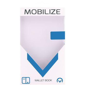 MOB-23149 Smartphone classic wallet book case honor 6x zwart Verpakking foto