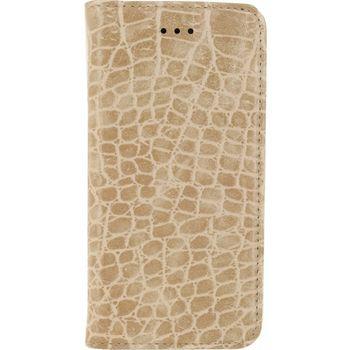 MOB-23179 Smartphone premium gelly book case samsung galaxy j3 2016 bruin