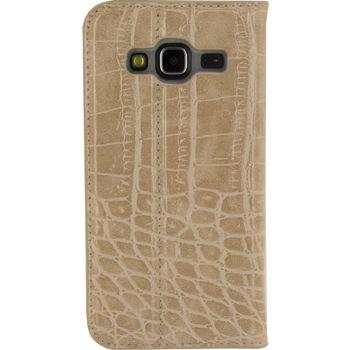 MOB-23179 Smartphone premium gelly book case samsung galaxy j3 2016 bruin Product foto