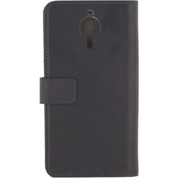 MOB-23288 Smartphone classic gelly wallet book case general mobile gm5 plus android one zwart Product foto