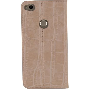 MOB-23319 Smartphone premium gelly book case huawei p8 lite 2017 / huawei p9 lite roze Product foto