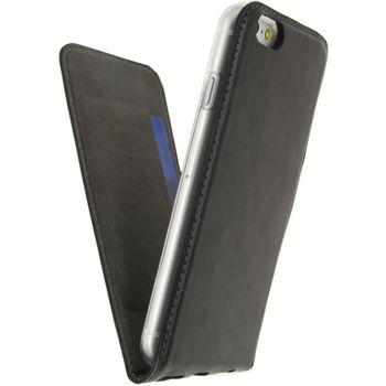 MOB-23320 Smartphone gelly flip case apple iphone 7 / apple iphone 8 zwart In gebruik foto