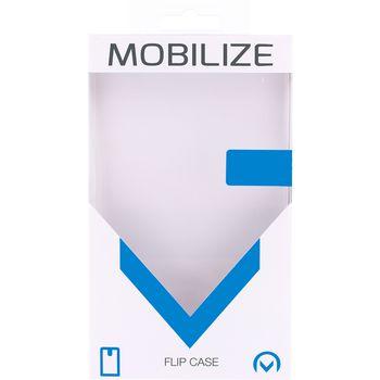 MOB-23320 Smartphone gelly flip case apple iphone 7 / apple iphone 8 zwart Verpakking foto
