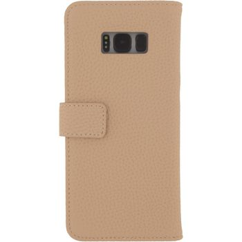 MOB-23389 Smartphone gelly wallet book case samsung galaxy s8 beige Product foto