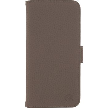 MOB-23391 Smartphone gelly wallet book case samsung galaxy s8+ taupe