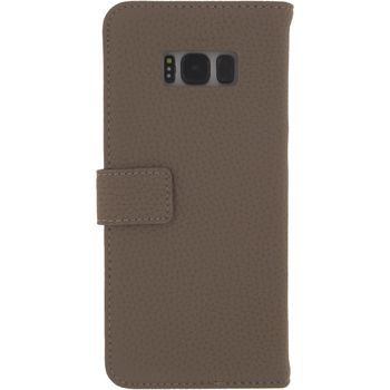 MOB-23391 Smartphone gelly wallet book case samsung galaxy s8+ taupe Product foto