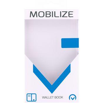 MOB-23391 Smartphone gelly wallet book case samsung galaxy s8+ taupe Verpakking foto