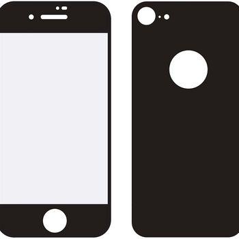 MOB-24038 Edge-to-edge voor- en achterzijde van glas screenprotector apple iphone 8