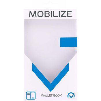 MOB-24175 Smartphone classic wallet book case samsung galaxy s9 groen Verpakking foto