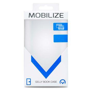 MOB-24349 Smartphone classic gelly wallet book case htc u12+ zwart Verpakking foto
