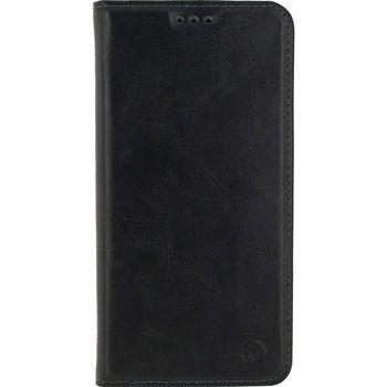 MOB-24377 Smartphone premium gelly book case samsung galaxy a6 2018 zwart
