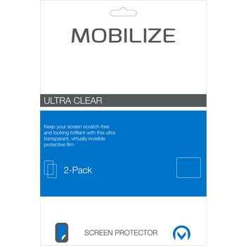 MOB-46624 Ultra-clear 2 st screenprotector samsung galaxy tab a 10.1 2016 Verpakking foto