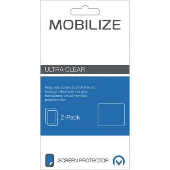 MOB-47401 Ultra-clear screenprotector sony xperia x compact Verpakking foto