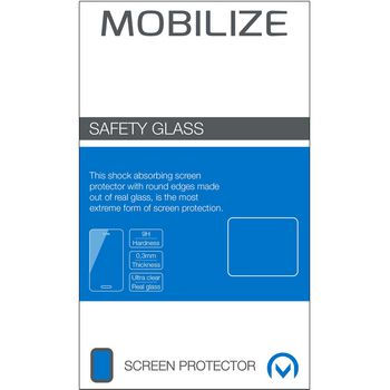 MOB-49919 Safety glass screenprotector wiko view Verpakking foto
