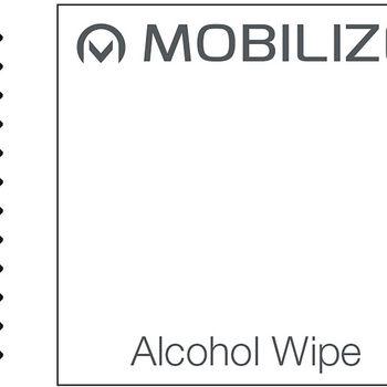 MOB-50325 Smartphone edge-to-edge glazen screenprotector lg v30 zwart Verpakking foto