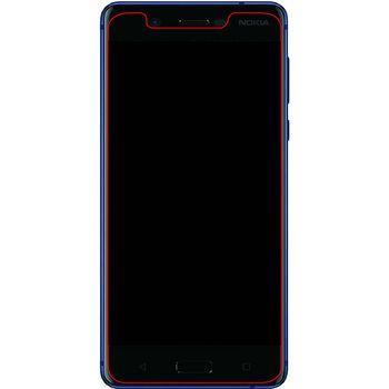 MOB-50841 Safety glass screenprotector nokia 5.1/5 (2018) In gebruik foto