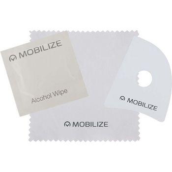 MOB-51020 Safety glass screenprotector apple iphone xr Inhoud verpakking foto
