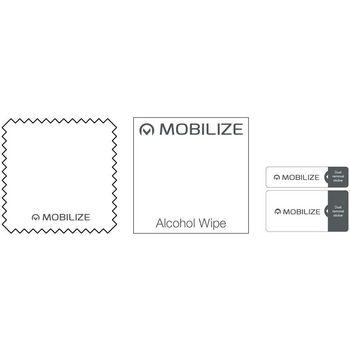 MOB-51023 Edge-to-edge glass screenprotector apple iphone xr Inhoud verpakking foto