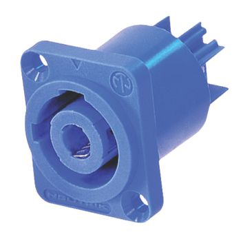 NTR-NAC3MPA Connector speaker female pvc blauw