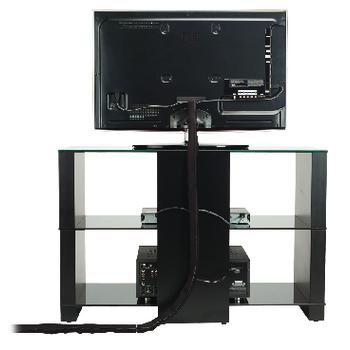 OMN-OECMS Kabelmanagement 1020 mm zwart Product foto