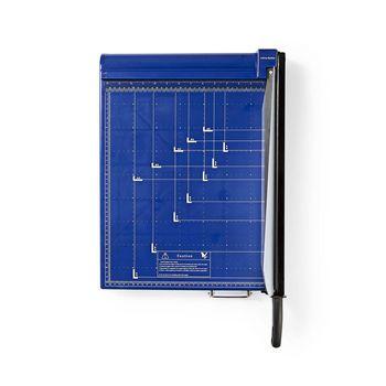 PACU110A3 Papiersnijmachine | max. snijden maat: 297 x 420 mm | soort mes: metaal | metaal | blauw / zwart