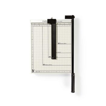 PACU110A4 Papiersnijmachine | max. snijden maat: 210 x 297 mm | soort mes: metaal | metaal | wit / zwart