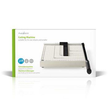PACU110A4 Papiersnijmachine | max. snijden maat: 210 x 297 mm | soort mes: metaal | metaal | wit / zwart Verpakking foto