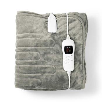 PEBL140CWT Elektrische onderdeken | bovendeken | 1 persoon | 180 x 130 cm | 9 warmte standen | wasmachinebesten Inhoud verpakking foto