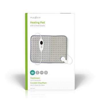 PEHP110CGY Verwarmingskussen | geschikt voor: universeel | 43 x 32 cm | 6 warmte standen | wasmachinebestendig  Verpakking foto