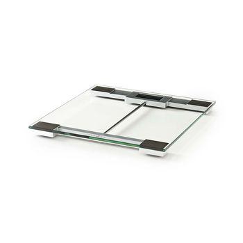 PESC110DCT Personenweegschaal   digitaal   transparant   gehard glas   maximaal weegvermogen: 180 kg Product foto