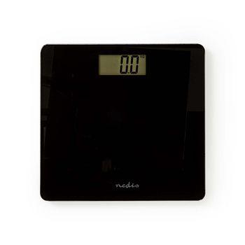 PESC111DBK Personenweegschaal | digitaal | zwart | gehard glas | maximaal weegvermogen: 180 kg