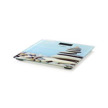 PESC112DVA Personenweegschaal | digitaal | stenen | gehard glas | maximaal weegvermogen: 150 kg Product foto