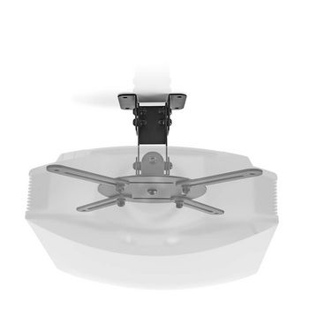 PJCM100BK Projectorbeugel | full motion | 10 kg | draaibaar | kantelbaar | zwart