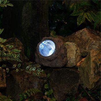 RA-5000154 Solar tuinlamp 3 led In gebruik foto