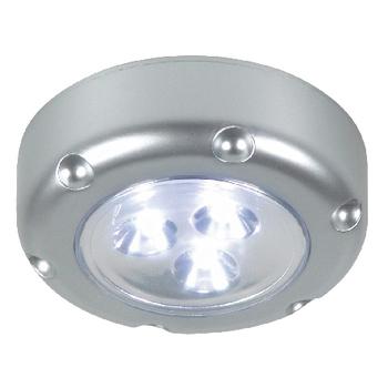 RA-6000072 Led lamp met druktoets 3 zilver