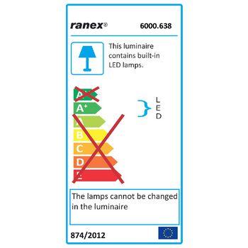 RA-6000638 Led bureaulamp 2.5 w zwart  foto