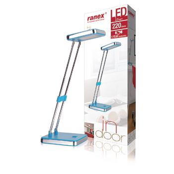 RA-6000640 Led bureaulamp 2.5 w blauw