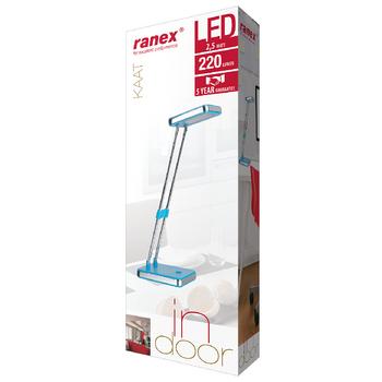RA-6000640 Led bureaulamp 2.5 w blauw Verpakking foto