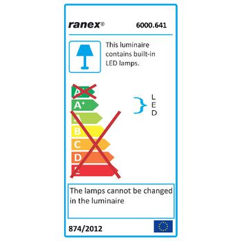 RA-6000641 Led bureaulamp 2.5 w rood  foto