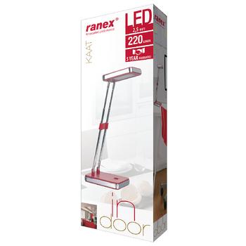 RA-6000641 Led bureaulamp 2.5 w rood Verpakking foto