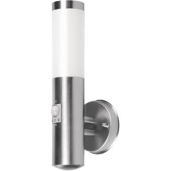 RA-RX101038R-S Wandlamp buiten 20 w incl. bewegingssensor geborsteld staal