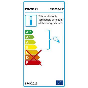 RA-RX101045S Tuinzuil met bewegingsmelder 20 w e27  foto