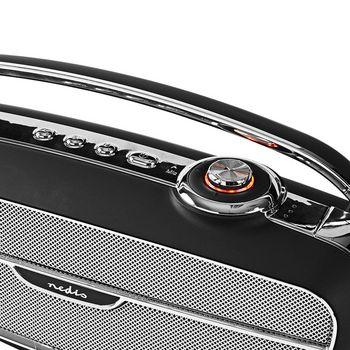 RDFM5300BK Fm-radio | 60 w | bluetooth® | zwart / zilver Product foto