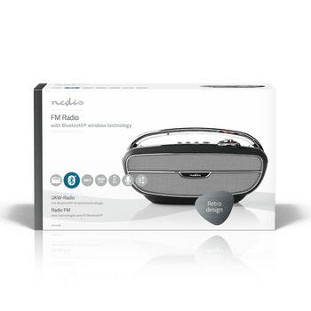 RDFM5300BK Fm-radio | 60 w | bluetooth® | zwart / zilver Verpakking foto