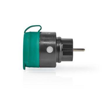 RFPO110FBK Rf stekker   outdoor ip44   aan/uit   schuko type f   2300 w Product foto