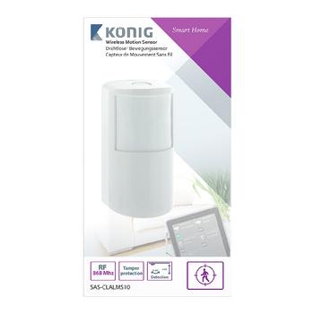 SAS-CLALMS10 Smart home bewegingsmelder 868 mhz Verpakking foto